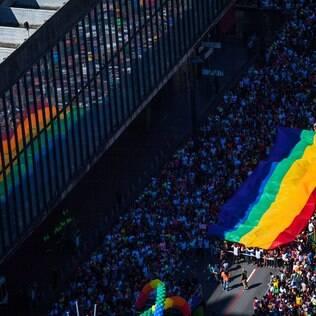 A Parada do Orgulho LGBT de São Paulo é também uma das maiores do mundo