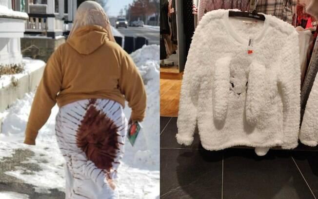 Seja na estampa ou na composição dos detalhes, algumas roupas acabaram viralizando na web por sua aparência