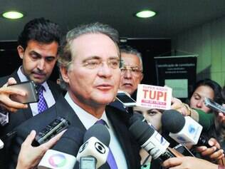 Decisões.  Renan Calheiros não poupou o governo, ressaltando que quer mais espaço para o PMDB