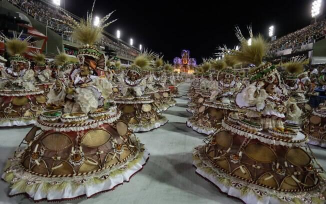 Desfile da Viradouro, a campeã de 2020