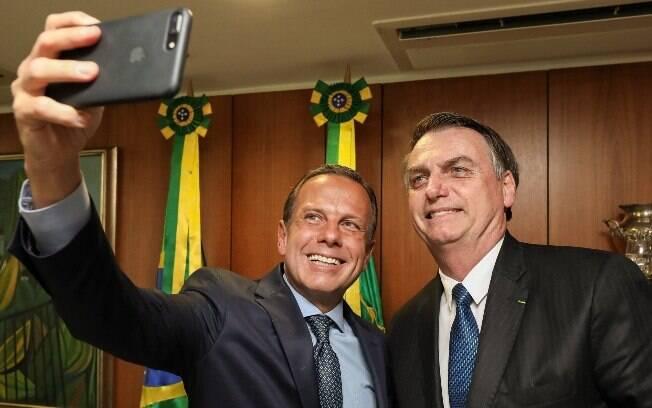 No PSDB, o governador de São Paulo, João Doria, afastou a possibilidade de seu partido se alinhar à base de Bolsonaro