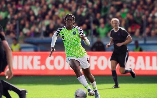 Nigéria vence a primeira no Mundial feminino de 2019