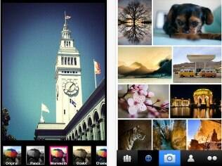 Aplivativo do Flickr para iPhone tem filtros similares aos do Instagram