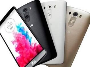 Aparelho foi lançado pela LG no Brasil em quatro cores.