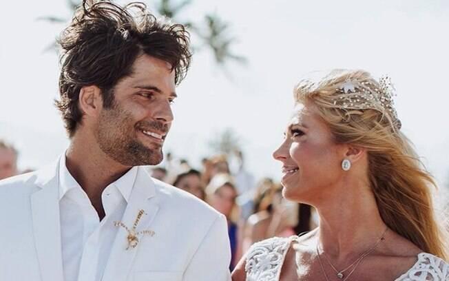 Caroline Bittencourt e Jorge Sestini