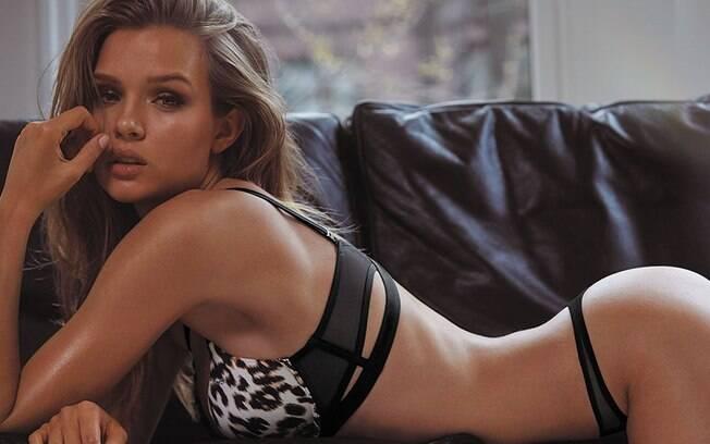 Militante LGBT e super modelo, Josephine Skriver se tornou uma das Victoria Secret's Angels em 2016