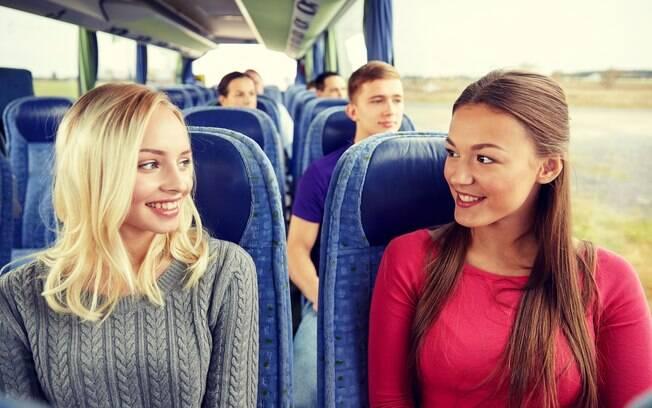 Ônibus e outros meios de transporte são ótimos para planejar futuras relações sexuais, mas nunca para realizá-las