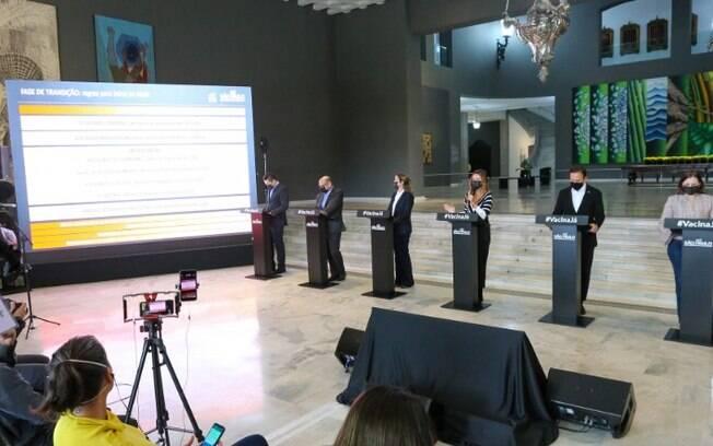 AO VIVO - Governo de São Paulo faz anúncios sobre o combate a pandemia
