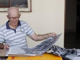 PAMPULHA: BELO HORIZONTE: CANCIO. Retrato de Câncio de Oliveira, um dos fotógrafos mais antigos de Belo Horizonte.  FOTO: DANIEL PROTZNER / O TEMPO / 09.05.2013