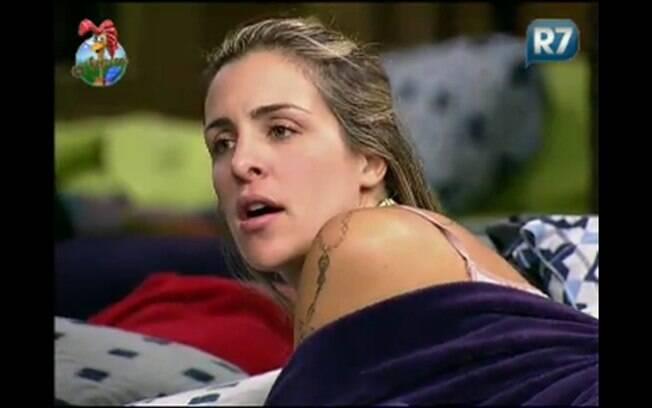Joana fala sobre sua nova postura no reality show