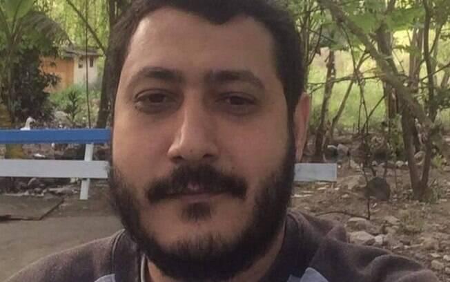 Foto enviada pela defesa do egípcio Mohamed Ahmed Elsayed Ahmed Ibrahim