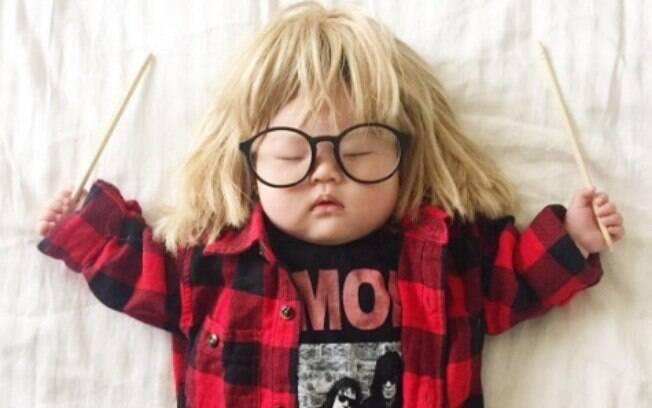 Mais de 500 mil pessoas acompanham as fotos da bebê no Instagram