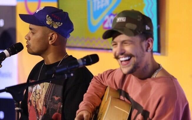 Saulo Poncio no lançamento do Festival Teen