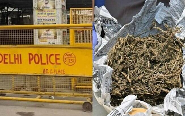 Os policiais suspensos teriam reportado apenas 1 kg de contrabando e vendido o restante