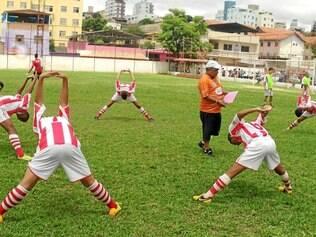 Frigoarnaldo. Equipe treinou firme durante toda a semana, se preparando para a final deste sábado pela Super Copa IMEF