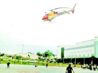 Socorro.  Criança de 3 anos foi resgatada pelo helicóptero Arcanjo