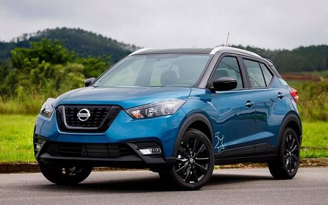 Nissan Kicks UEFA 2020: série limitada do SUV vem com itens exclusivos, como a pintura azul e preta