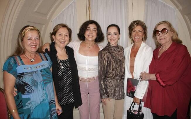 Bete Mendes, Aracy Balabanian, Betty Faria, Ana Botafogo, Marília Pêra e Jacqueline Laurence