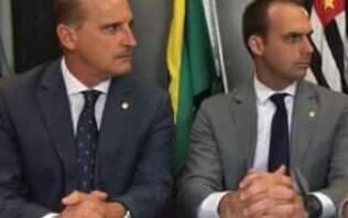 """""""População vai defender Eduardo embaixador em Washington"""", diz Onyx"""