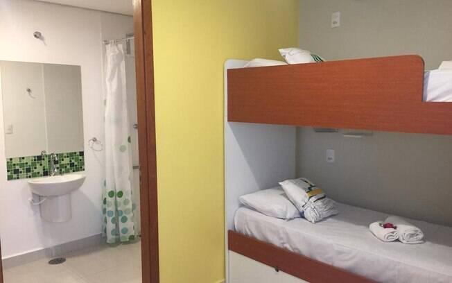 Tipos de hospedagem: Brasilodge All Suites Hostels