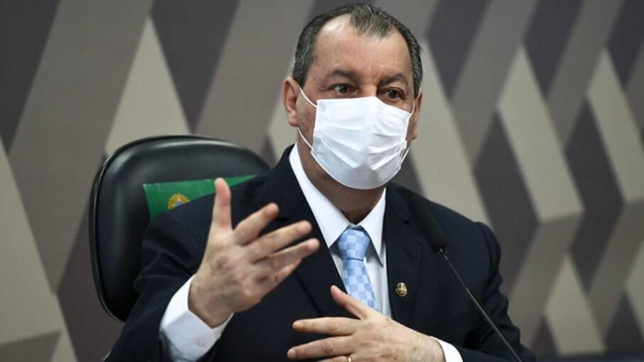 Presidente da CPI da Covid, senador Omar Aziz (PSD-AM)