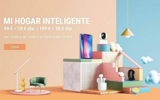 Peça publicitária da Xiaomi na Espanha