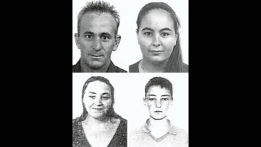 Izael Passoni, Laine Kellen, Cleide Mara Rodrigues e Weriston, os quatro brasileiros mortos pelo ciclone Cleópatra
