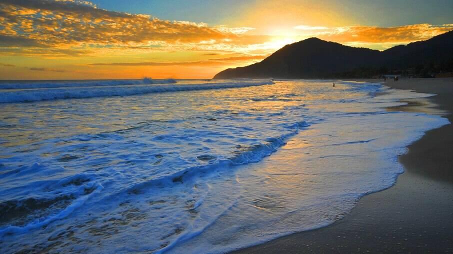 Praia de Maresias Maresias possui uma das melhores infraestruturas turísticas de São Sebastião