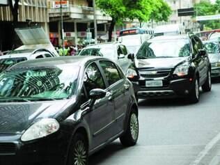 Problema.   Amazonas tem hoje um dos trânsitos mais complicados da cidade
