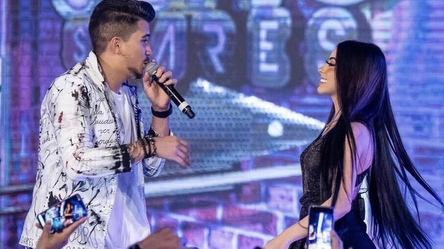 Gutto Soares e MC Mirella dividem os vocais em