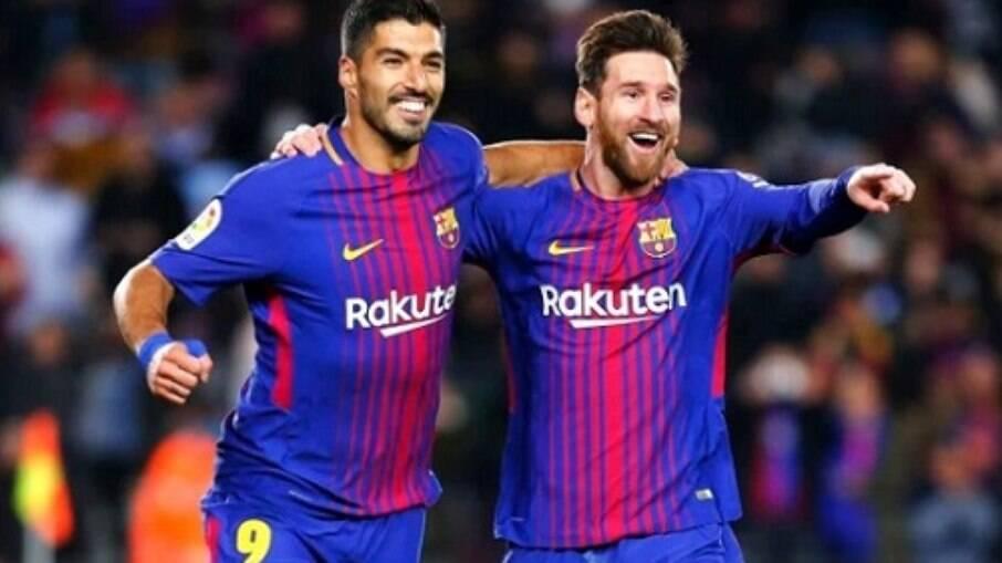 Messi e Suárez marcaram história juntos no Barcelona