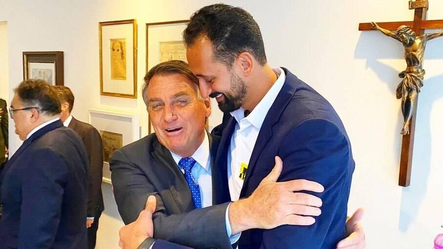 Maurício encontra Jair Messias Bolsonaro