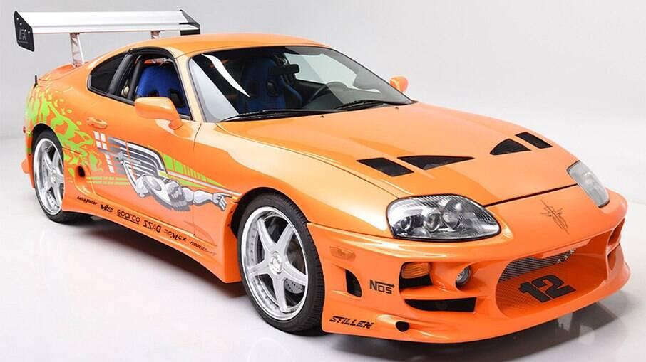 Toyota Supra participou da primeira saga da franquia Velozes e Furiosos.