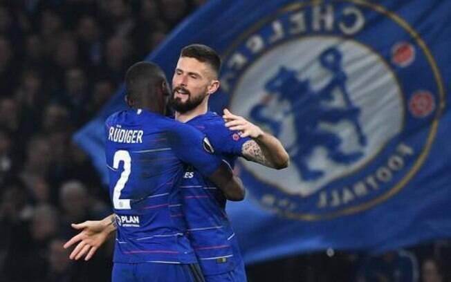Chelsea enfrenta o Slavia Praga nas quartas da Liga Europa na agenda do futebol desta quinta-feira