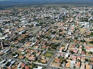 A cidade Primavera do Leste no Mato Grosso