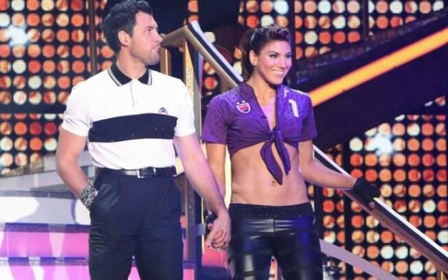 A goleira ainda participou do Dancing with  the Stars, a Dança dos Famosos dos EUA