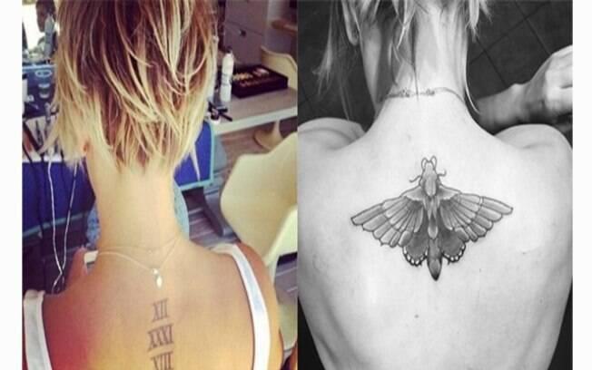 Famosos que se arrependeram das tatuagens: