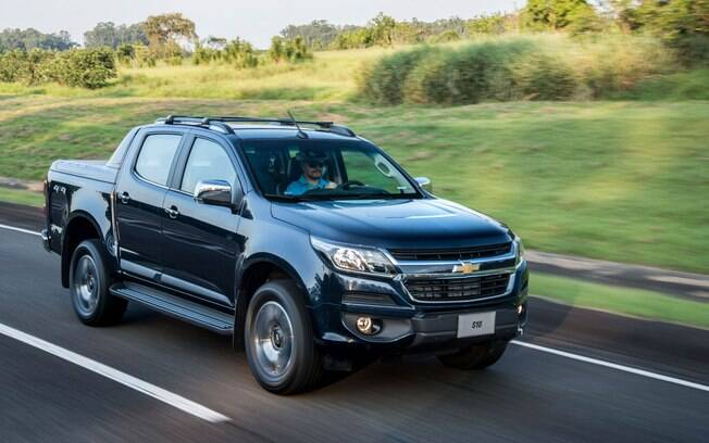 Chevrolet S10 2018 a diesel recebeu algumas mudanças na transmissão para ficar mais econômica e confortável
