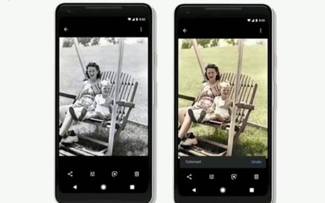 Google vai colorir suas fotos preto e branco e torná-las mais vivas