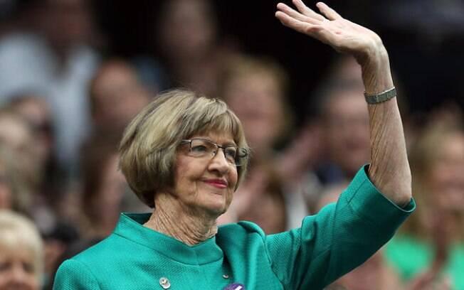 Aos 74 anos, Margaret Court é um dos maiores nomes do tênis