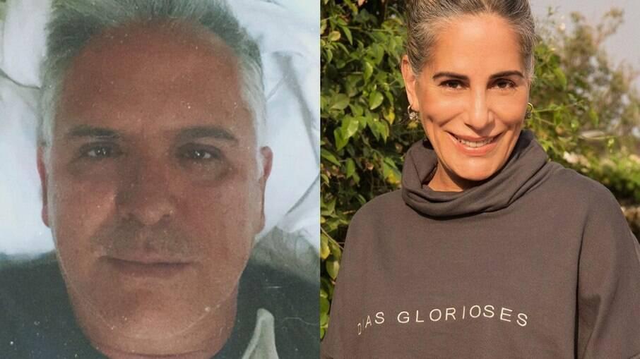 Glória Pires fala sobre estado de saúde de Orlando Morais