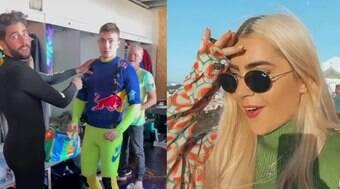 Jade Picon curte dia em Portugal com Scooby e Whindersson