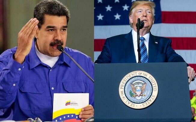 Nicolás Maduro e Donald Trump