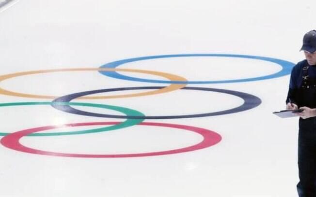 Anéis Olímpicos dos Jogos de Inverno