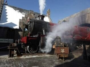 O Hogwarts Express, que era só para ver, entra em operação em breve