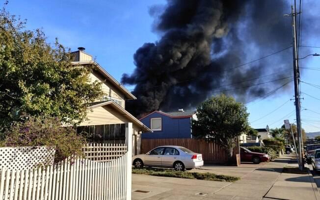 Casa tomada pelo fogo: