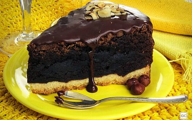 A melhor receita de torta-brownie de avelã do mundo
