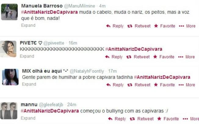 Internautas fazem piada sobre o novo nariz de Anitta