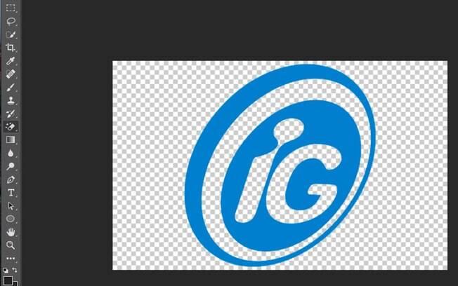 A Magic Eraser Tool remove o fundo completamente com apenas um clique.
