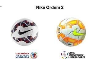 Bolas apresentam design específico para cada uma das competições organizadas pela Conmebol